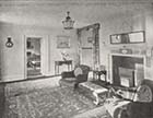Grove House corner of Hall 1951