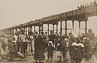 Jetty and entertainers on sands | Margate History