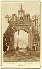 Celebratory Archway at Upper Marine Terrace | Margate History