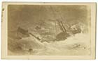 Photographic  copy of a painting of a paddle steamer in trouble off Margate | Margate History