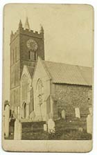 St Johns Church [CDV] | Margate History