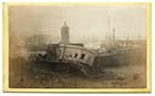 Storm damage to Pier 1877 [CDV] | Margate History