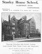 Clarendon Road/Stanley House School for Boys [Guide 1912]