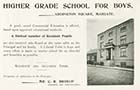 Addington Square/Higher Grade School [Guide 1900]