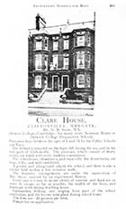 Eastern Esplanade//Clare House [Book 1908]