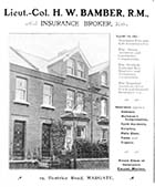 Beatrice Road/ Bamber Insurance Broker No 19 [Guide 1903]