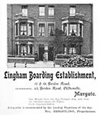 Gordon Road/Lingham Hotel Nos 17 and 19 [Guide 1903]