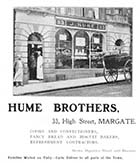 High Street/Hume Brothers Bakers Nos 33 [Guide 1903]