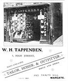 High Street/W. H. Tappenden Tailor No 7 [Guide 1903]