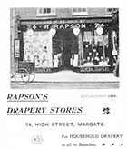 High street/R. Rapson Drapery Store No 74 [Guide 1903]