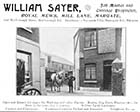 Mill Lane/Royal Mews Sayer Carriages [Guide 1903]