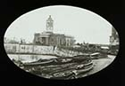Droit House from the Parade  [Lantern Slide] | Margate History