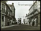 Fort Hill and tram [Lantern Slide]  | Margate History