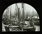 Shipping in the Harbour [Lantern Slide] | Margate History