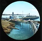 Jetty and Walkway [Lantern Slide]  | Margate History