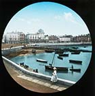 Parade  from the Harbour  [Lantern Slide] | Margate History