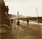 Marine Terrace and Clocktower [Glass stereo] | Margate History