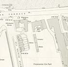 Map of the Casino Bars and Car Park 1954 | Margate History