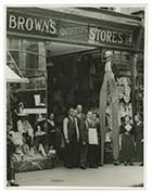 High street Browns outfitters 1921[Photo]