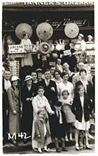 Marine Terrace Tanners Bazaar group outside| Margate History