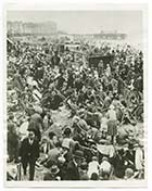 Sands Crowded August 1931[Photo]