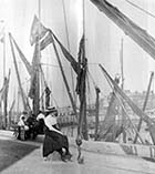 Scene at the Harbour  | Margate History