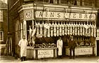 Ainslie Bros. butchers, 62 High street [PC, Hobday] Margate History