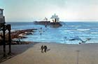 Jetty after storm 1978 [John Robinson] | Margate History