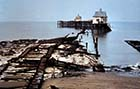 Jetty after storm 1978 [John Robinson]] | Margate History