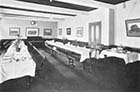 Stanley House School dining room ca 1920s