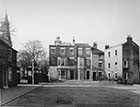 Church Square 1939 Dorset Place left of gas lamp Church Alley right Nos 15 16 17 facing | Margate History