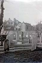 Dorset Place derelict from St Johns Churchyard early WW2 | Margate History