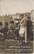 Dreamland Football ground Harry Sandwell. circa 1912| Margate History