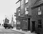 Hope & Anchor, corner Church Square, Dixons Place in bcg, 1950 | Margate History