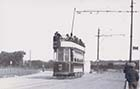 Tram No 43 Northdown Road-Princes Gardens corner on the right is private reservation  1923 | Margate History