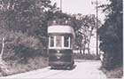 Tram No 8 In the reservation by Wheatsheaf corner 1924 | Margate History