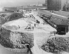 Work on Fort Hill Dual carriage way construction 1939 | Margate History