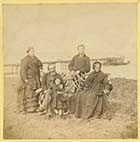 Family seated on Fort [James Stodart] Margate History