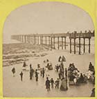 Pier and Minstrels on beach | Margate History