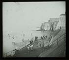 The cliffs [Opaline stereocard] #124; Margate History