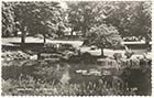 Dane Park bridge and lake 1962 | Margate History