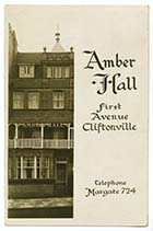 First Avenue Amber Hall | Margate History