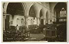 Hartsdown Road All Saints Church Interior | Margate History