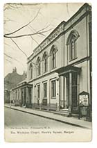 Hawley Square/Wesleyan Chapel 1908 [PC]