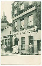 Market Street/Kings Arms Hotel [PC 1908]