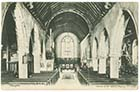 St John's Church/Interior 1904 [PC]