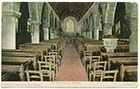 St John's Church/Interior 1906  [PC]
