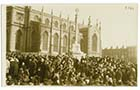Trinity Church/Unvieling War Memorial Nov 1922 2 [PC]