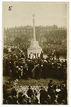 Trinity Church/Unvieling War Memorial Nov 1922 [PC]