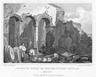 Interior Ruins of the Reculver's Church 1830